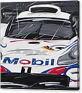 Le Mans Porsche 911 Gt 1995 Canvas Print