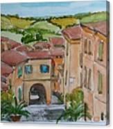 Le Marche, Italy Canvas Print
