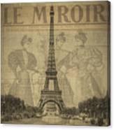 Le Miroir Canvas Print