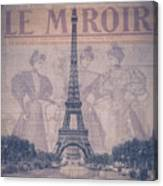 Le Miroir - Paris Canvas Print
