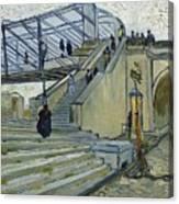 Le Pont De Trinquetaille Canvas Print