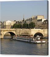 Le Pont Neuf. Paris. Canvas Print
