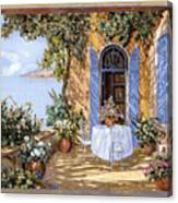 Le Porte Blu Canvas Print