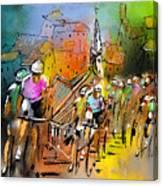 Le Tour De France 04 Canvas Print