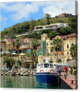 Le West Indies Mall In St. Martin  Canvas Print