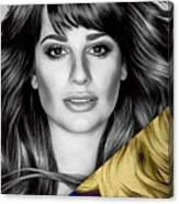 Lea Michele Collection Canvas Print