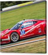 Lead Ferrari Canvas Print