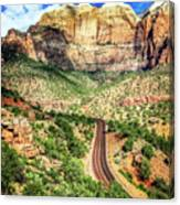 Lead Me To Zion Canvas Print