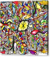 Lead Salad Canvas Print