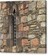 Leaded Nunnery Window Canvas Print