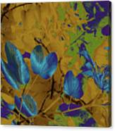 Leaf And Flower 10 Canvas Print