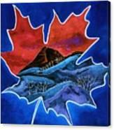Leafy Vision  Canvas Print