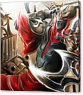 League Of Legends Canvas Print