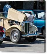 Leander Texas Car Show Viewing Canvas Print