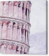 Leaning Tower Of Pisa - 03 Canvas Print