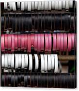 Leather Bracelets Canvas Print