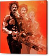Leatherface Beastmode Canvas Print