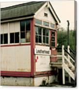 Leatherhead Station Canvas Print