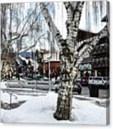 Leavenworth Lights Remain Canvas Print