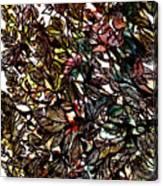 Leaves Hidden Everywhere Canvas Print
