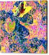 Leaves Of Flurry 1 Canvas Print