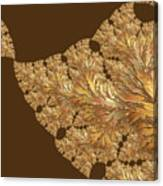 Leaves Of Gold Canvas Print