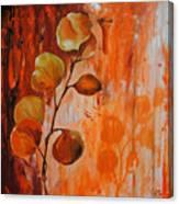 Leaves1 Canvas Print