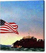 Leaving Alcatraz Canvas Print