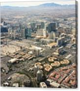 Leaving Las Vegas 3 Canvas Print