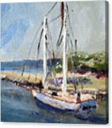 Leaving Sesuit Harbor Canvas Print