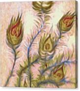 Leaving Summer Flowers Canvas Print