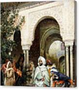 Leaving The Alhambra Canvas Print