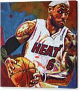 Lebron James 3 Canvas Print