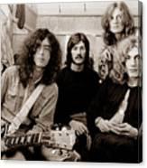 Led Zeppelin 1969 Canvas Print