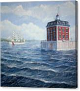 Ledge Lighthouse Canvas Print