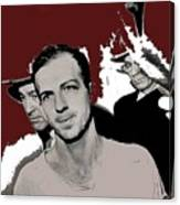 Lee Harvey Oswald Dallas Police Station Dallas Texas Unknown Photographer 1963-2016 Canvas Print