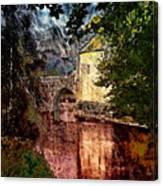 Leeds Castle Gatehouse And Moat Canvas Print