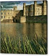 Leeds Castle In Kent Canvas Print