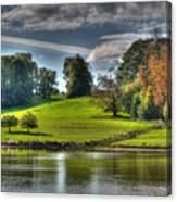 Leeds Castle Lake View Canvas Print