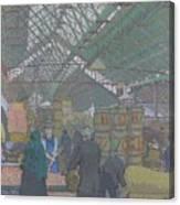 Leeds Market Canvas Print