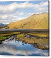 Leenane Reflection Irish Landscape Canvas Print