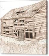 Lee's Barn Canvas Print