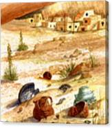 Left Behind - Indian Pottery Canvas Print
