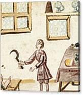 Leg Surgery, 1675 Canvas Print