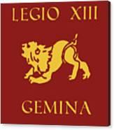 Legio Xiii Gemina Canvas Print