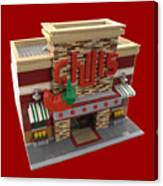 Lego Chili's Restaurant Canvas Print