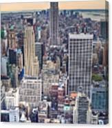 Lego-city Canvas Print