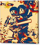 Lego Star Wars IIi The Clone Wars Canvas Print