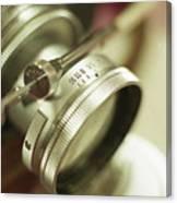 Leica 3c Macro Lens Aperture Ring Canvas Print