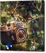 Leica Christmas Canvas Print